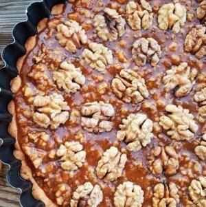 Ореховый тарт