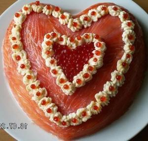 """Салат """"Сердце для любимого"""""""