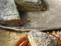 Сметанный торт с маком