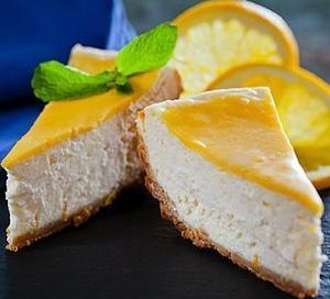 Апельсиновый чизкейк в мультиварке