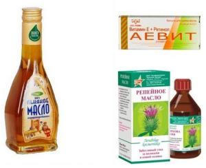 Витаминное масло для волос