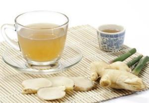 Имбирный чай поможет похудеть