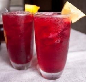 Красный чай с имбирем