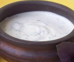 Горчично-сметанный соус