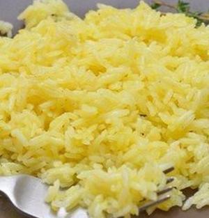 Ароматный рис с шафраном