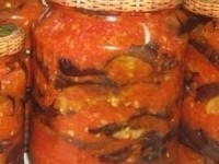 Баклажаны - бабушкин рецепт на зиму