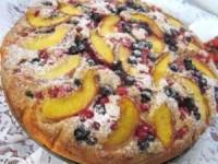 Быстрый летний ягодный пирог