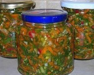 Заправка для борща, супа и других блюд на зиму