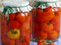 Консервированные помидоры без уксуса