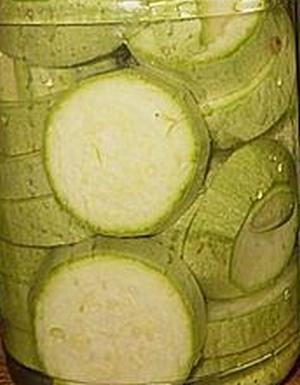Маринованные кабачки на зиму