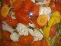 Овощная смесь в маринаде на зиму