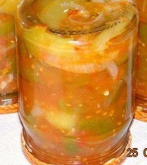 Перец консервированный в томате на зиму