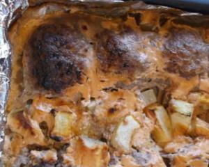 Запечённые в духовке котлеты из телятины с кабачками