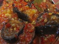 Салат из баклажанов на зиму Тещин язык