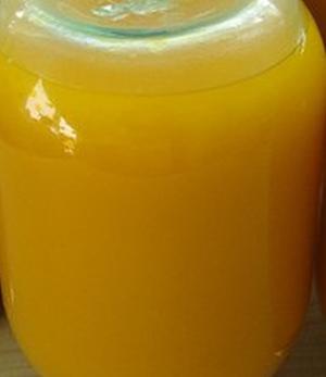 Сок тыквы с апельсинами и лимонами