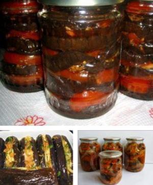 17 Рецептов заготовок на зиму из баклажанов 0