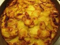 Картофель с чесноком и сливками
