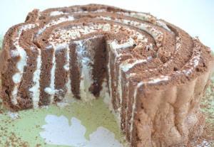 """Торт """"Пенек"""" с ванильно-творожным кремом"""