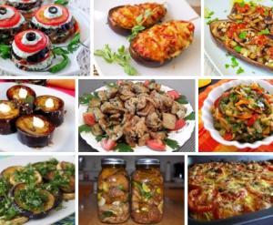 Рецепты из баклажанов вкусные и простые 2