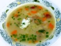 Грибной суп в мультиварке