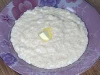 Рисовая молочная каша в мультиварке