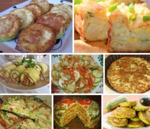 Лучшие рецепты приготовления кабачков