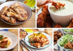 Рецепты с куриными крылышками