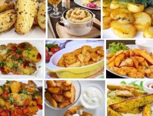 Самые вкусные рецепты приготовления картофеля
