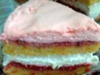 Миндально-тыквенный торт