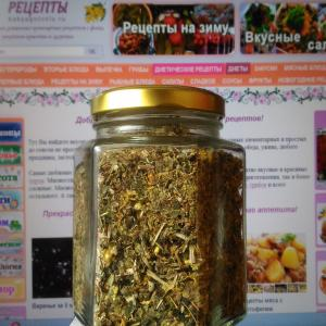 Лечебный чай из трав