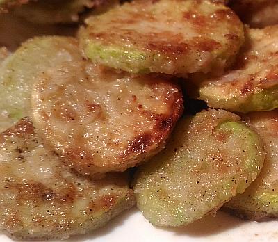 Вкуснейшие жаренные кабачки с мукой